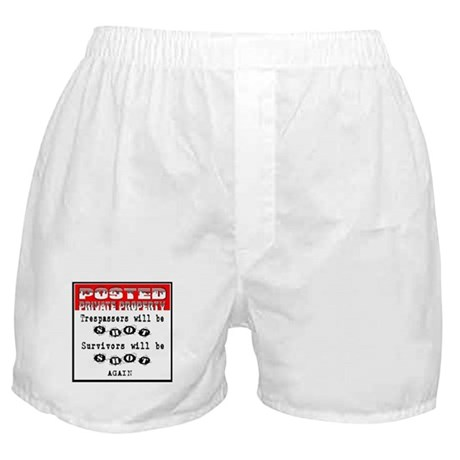 POSTED Boxer Shorts