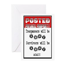 POSTED Greeting Cards (Pk of 10)