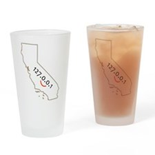 California is IT! Drinking Glass