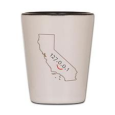 California is IT! Shot Glass