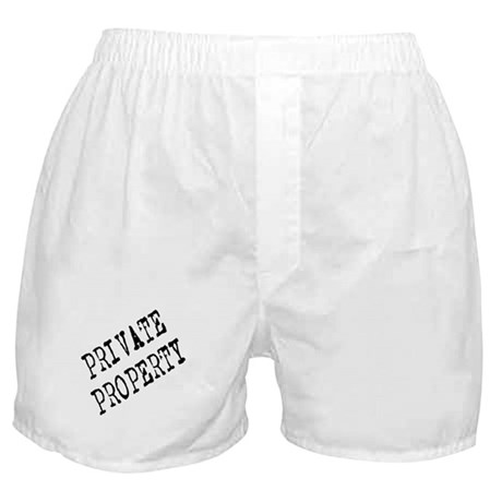 Private Property Boxer Shorts