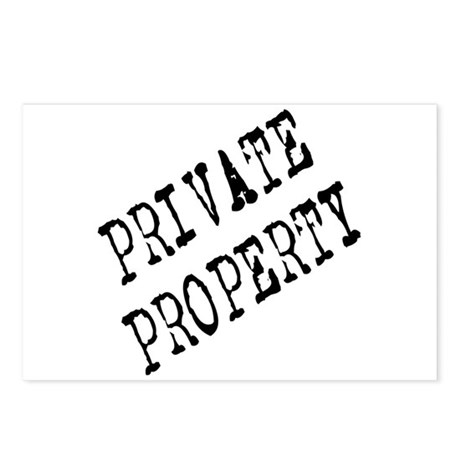 Private Property Postcards (Package of 8)
