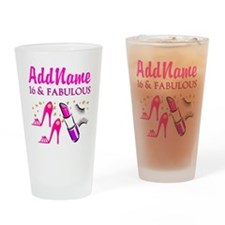 SWEET 16TH Drinking Glass