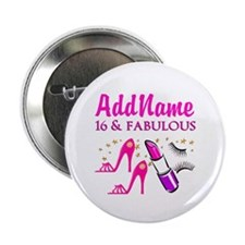 """SWEET 16TH 2.25"""" Button (10 pack)"""