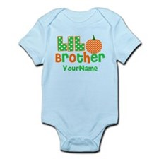 Little Brother Pumpkin Body Suit