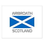 Arbroath Scotland Small Poster