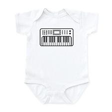 Keyboard piano Instrument Infant Bodysuit