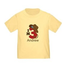 Cowboy 3rd Birthday Personalized T