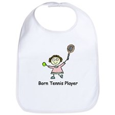 Born Tennis Player Bib