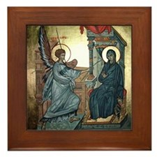 Annunciation Framed Tile