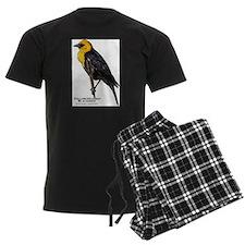 Yellow-Headed Blackbird Pajamas