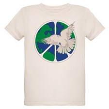 Peace Sign & Dove T-Shirt