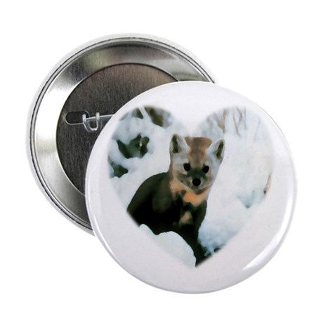 "Little Fox 2.25"" Button (10 pack)"