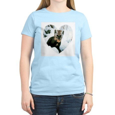 Little Fox Women's Pink T-Shirt