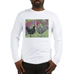 Marans Chickens Long Sleeve T-Shirt