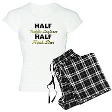 Half Traffic Engineer Half Rock Star Pajamas