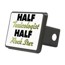 Half Toxicologist Half Rock Star Hitch Cover
