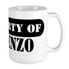 Property of Lorenzo Mug