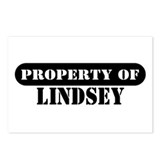 Property of Lindsey Postcards (Package of 8)
