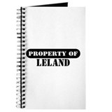 Property of Leland Journal
