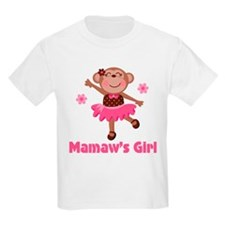 Mamaw's Girl monkey T-Shirt