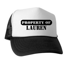 Property of Lauren Trucker Hat