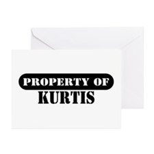 Property of Kurtis Greeting Cards (Pk of 10)