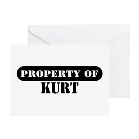 Property of Kurt Greeting Cards (Pk of 10)