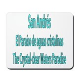 San Andres Islands Mousepad