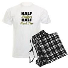 Half Stuffer Half Rock Star Pajamas