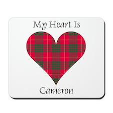 Heart - Cameron Mousepad