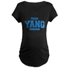 Grey's Anatomy Team Yang Dark Maternity T-Shirt