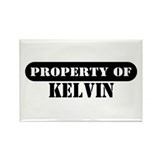 Property of Kelvin Rectangle Magnet (100 pack)