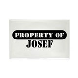 Property of Josef Rectangle Magnet (10 pack)