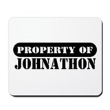 Property of Johnathon Mousepad