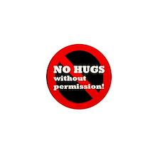 No Hugs Without Permission Consent Culture Mini Bu