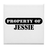 Property of Jessie Tile Coaster