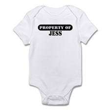 Property of Jess Infant Bodysuit