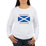 Bearsden Scotland Women's Long Sleeve T-Shirt