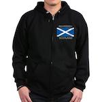 Bearsden Scotland Zip Hoodie (dark)