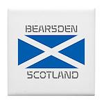 Bearsden Scotland Tile Coaster