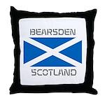 Bearsden Scotland Throw Pillow