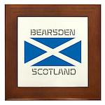 Bearsden Scotland Framed Tile