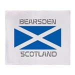 Bearsden Scotland Throw Blanket