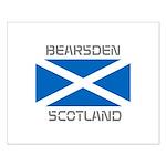 Bearsden Scotland Small Poster