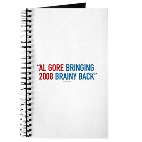 Al Gore - Bringing Brainy Back Journal
