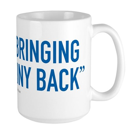 Al Gore - Bringing Brainy Back Large Mug