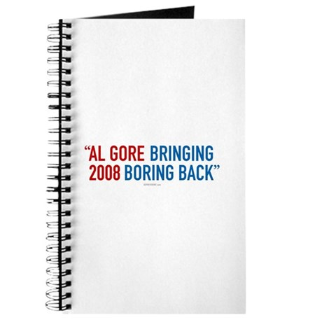Al Gore - Bringing Boring Back Journal