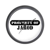 Property of Jarod Wall Clock
