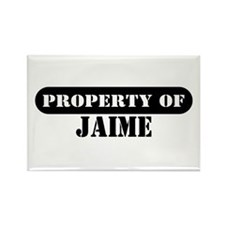Property of Jaime Rectangle Magnet (10 pack)